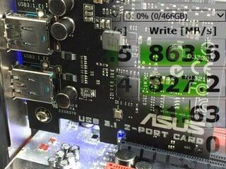 10Gbps傳輸速度!! SuperSpeed+ USB 3.1性能實測