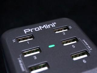 5x 轉插、6x USB 輸出 ProMini PowerStation 6T 充電器