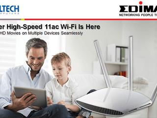 Altech(HK)成為Edimax路由產品港澳總代理 主力提供無線網路、寬頻網路、乙太網路產品