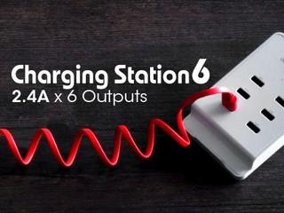 精緻小巧省位 供電輸出強勁 MiniQ Charging Station 4及6充電座