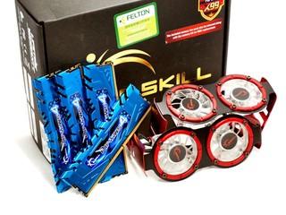 DDR4-3400 16GB Kit登場 G.SKILL F4-3400C16Q-16GRBD模組