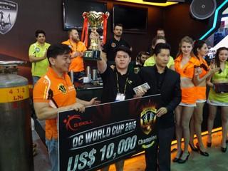 G.SKILL全球超頻錦標賽 2015 香港選手劉建林  登上世界冠軍寶座