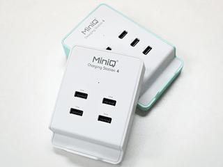 全 2.4A 接口設計、充電效率更高更快 MiniQ Charging Station 4 / 6 登場