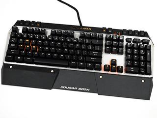 銀色金屬面、更具專業玩家味道 Cougar 600K 機械軸電競鍵盤