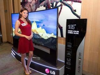 震撼視覺體驗 達 105 吋特大屏幕 LG 推出全新 Curved UHD/4K OLED TV