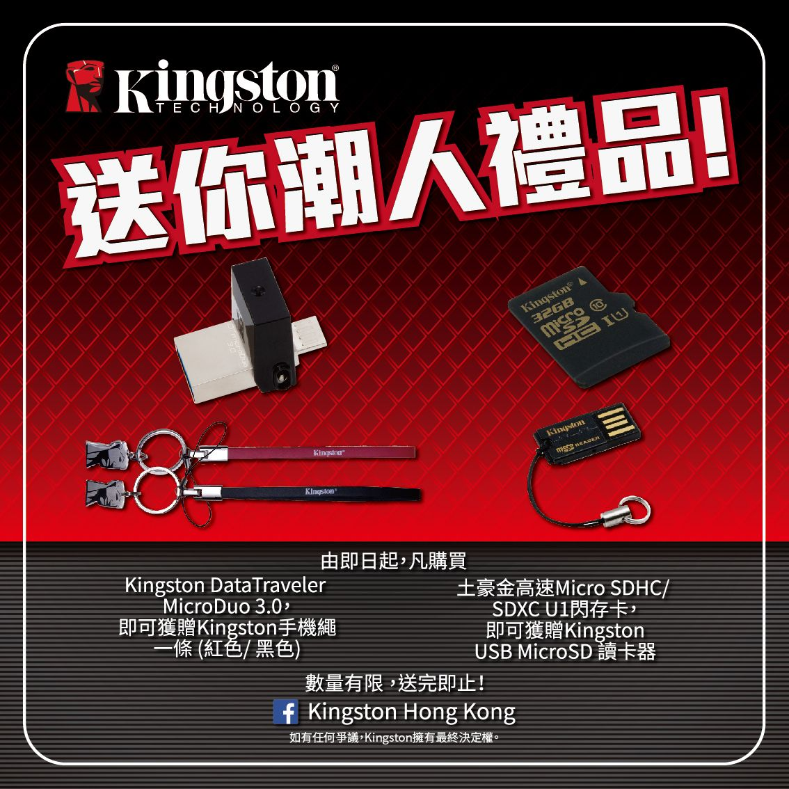 Kingston Summer promotion
