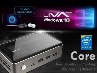 ECS LIVA 系列全面升級 Windows 10 全新「Core」強攻筆電效能
