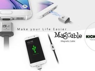 aMagic MagCable 磁力線產品重新上架 16/10 前 Kickstarter 網站優先預售