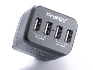 更輕更細、更方便攜帶 支援四組輸出 ProMini Power Station 4T 充電插座