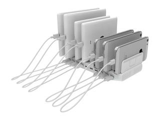 10 USB Port、96W 總輸出功率 Unitek 全新 Y-2172 智能充電基座登場