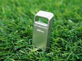 輕巧、全金屬外殼 Kingston DataTraveler Micro 3.1