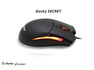 Ducky 「Secret」滑鼠正式到港 首批贈送 Ducky Flipper Extra 滑鼠墊乙塊