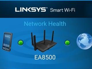隨時隨地管理家中/辦公室 Router  Linksys 獨家 Smart WiFi 應用程式