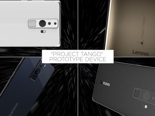 Google 「Project Tango」新里程 Lenovo 將推出具備VR 智能手機