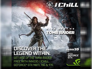 Inno3D / iChill 買卡送 Game 優惠活動 免費換取 Rise of the Tomb Raider