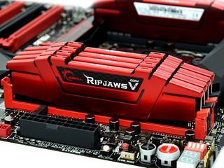 G.SKILL推出D4-3000 CL14 128GB Kit RIPJAWS V F4-3000C14-GVK下月上市