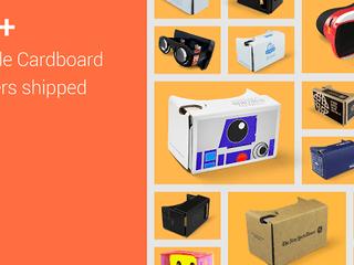 VR影片播放時間達35萬小時 Google 紙板VR眼鏡大受歡迎