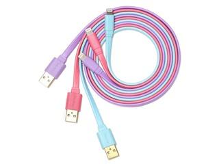 三款粉嫩色調 用料講究 安全可靠 MagicPro ProMini Lightning銅製充電線