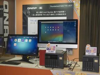 QNAP 新一代旗鑑系列  TVS-x82T  搭載 Skylake 處理器、內外功能全面革新