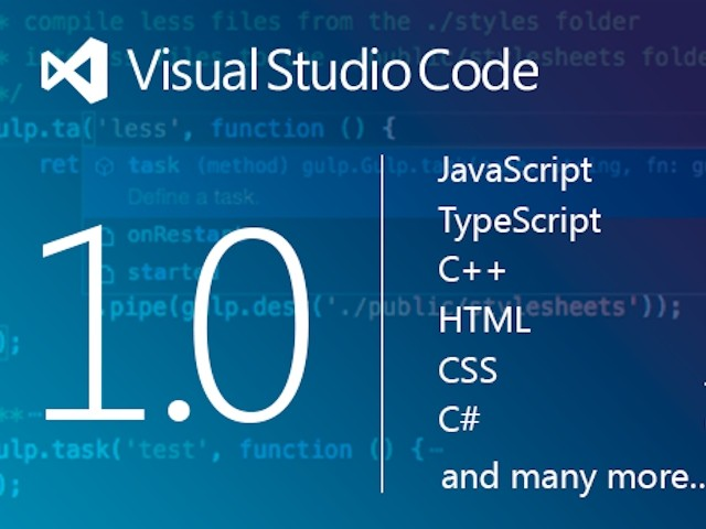 Visual Studio Code 1.0