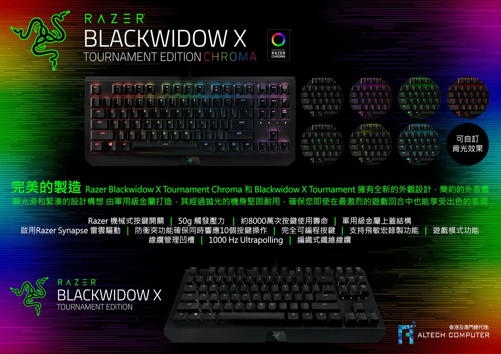 Razer Blackwidow X TE Series