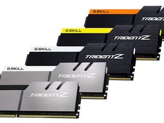 G.SKILL TridentZ DDR4記憶體模組 將加入五款全新配色滿足DIY玩家需求