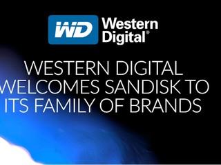 將提供更完整儲存解決方案及產品 Western Digital 拼購 Sandisk 完成