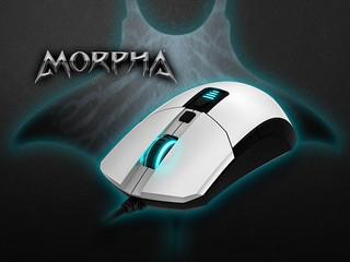 優化操控 人體工學配以 IR LED 光學感應器 EPICGEAR MORPHA 電競滑鼠