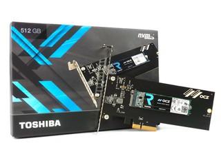 2.6GB/s 極速、支援 NVMe TOSHIBA OCZ RD400 512GB SSD