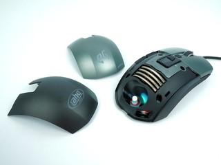 6400dpi靈敏度、重量微調系統進階版 EpicGear MorphA Gaming RGB滑鼠