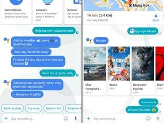 Assistant 智能助手具備AI學習功能 Google 通訊 Apps - 「Allo」登場