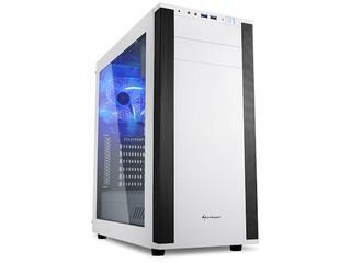 大透明側窗 首款機箱內建 7.1 音效 Sharkoon M25-W ATX 機箱