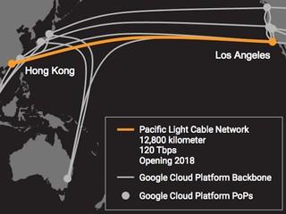 橫跨太平洋直連美國 傳輸速度達120Tbps PLCN 海底光纖電纜 將於2018 啟用