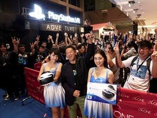 10月21日前於The One 舉行試玩大會 Sony PlayStation VR  正式登陸香港