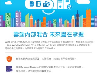 Windows Server 2016 現已登場!