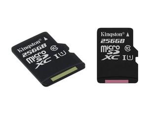 為流動裝置容量提供額外升級 Kingston Class 10 UHS-I microSD Card
