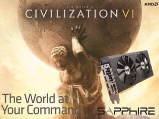 Sapphire 送 Game 優惠停不了 買  RX480  送 Civilization VI 遊戲