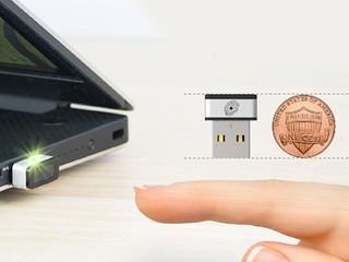 輕鬆為WIN10 系統加入指紋辨識功能 PQI MyLockey 指紋辨識外置手指