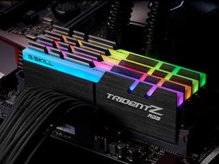 4266MHz 強悍效能結合水流幻光燈效 G.Skill 全新 Trident Z RGB DDR4 記憶體