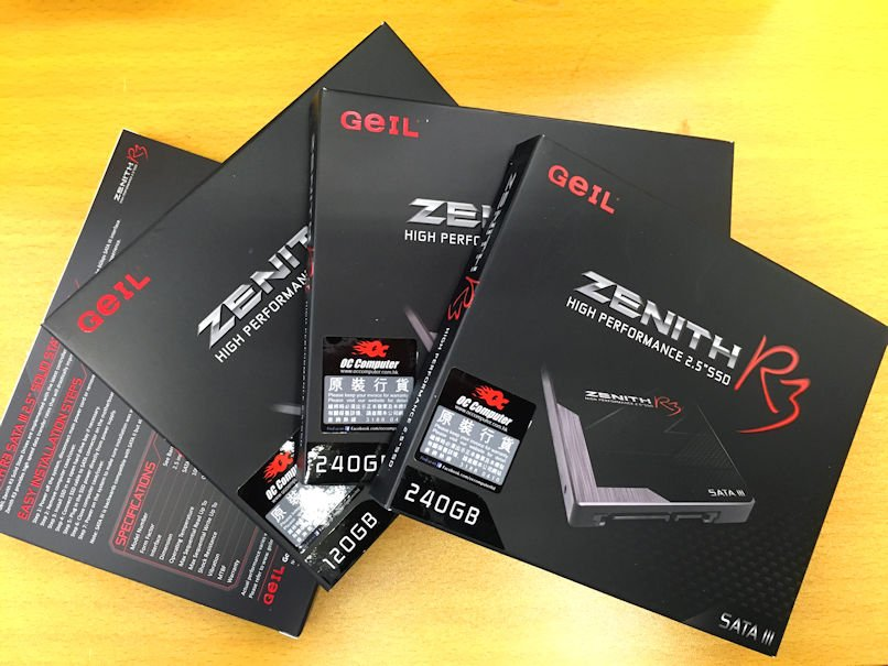 Zenith R3 New Packing