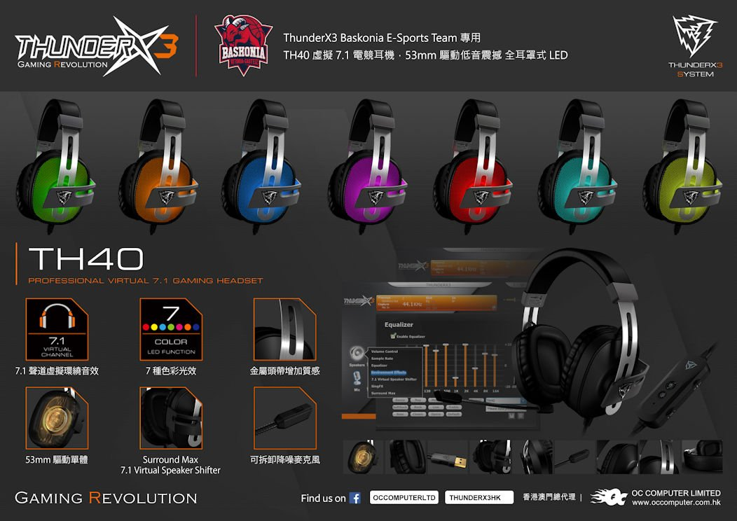 ThunderX3 Headset