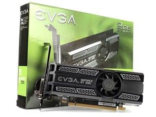 型格散熱器設計 EVGA GeForce GT 1030 SC繪圖卡