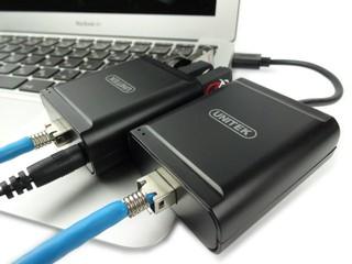 最長 60 米延伸距離 UNITEK「Y-2516」RJ45 USB Extender