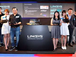 Linksys 首款遊戲專屬路由器  WRT32X 新品發佈會
