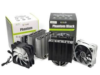旗艦級效能.主流級價錢 GELID Phantom 系列散熱器