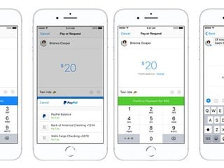 Facebook Messenger 全新 P2P 轉帳方式 以 PayPal 帳戶支付或收取費用