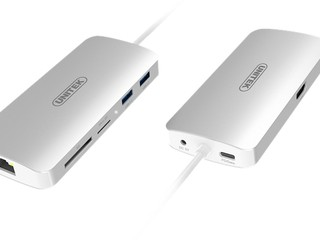 強勁擴充裝置 Macbook 用家必備 Unitek USB Type-C 8 合 1 擴充器