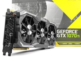 8+2 相、IceStorm 散熱器 ZOTAC GeForce GTX 1070 Ti AMP Extreme