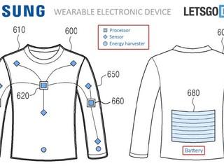 連衣服也要智能?! Samsung 正式獲批「智能服裝」專利
