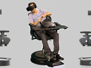 VR 虛擬實境體驗 Level Up Roto VR 旋轉電動椅準備出貨